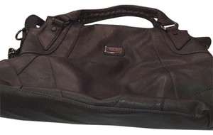 Nine West Satchel in Charcoal Gray