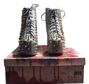 Jeffrey Campbell Denim Boots