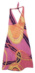 Trina Turk short dress Pink, Black & Orange on Tradesy