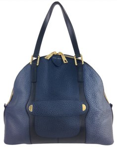 Marc Jacobs Satchel in Navy and Black