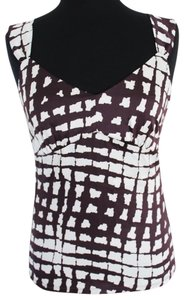 Preload https://item4.tradesy.com/images/ann-taylor-burgandy-and-white-tank-topcami-size-4-s-922383-0-0.jpg?width=400&height=650