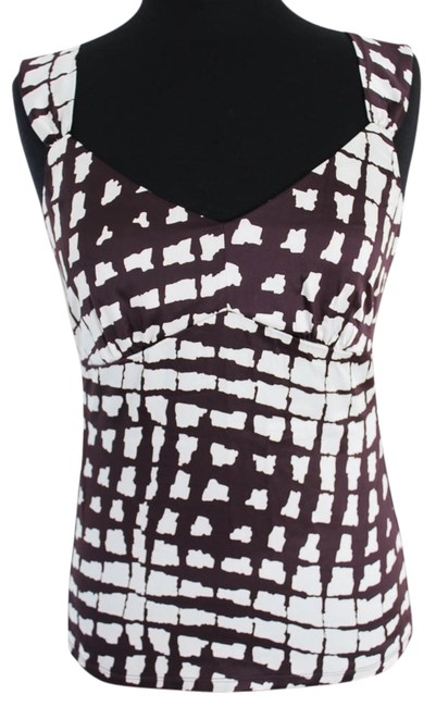 Preload https://img-static.tradesy.com/item/922383/ann-taylor-burgandy-and-white-tank-topcami-size-4-s-0-0-650-650.jpg