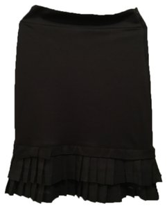 Modbod Pencil Pleated Bottom Skirt Black