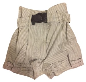 3.1 Phillip Lim Dress Shorts Blue and white