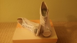 Ivory Boots/Booties Size US 8.5