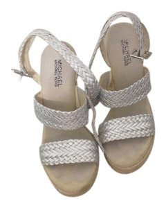 Michael Kors Silver Wedges