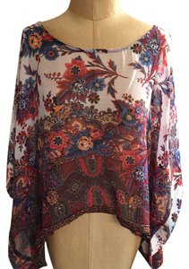 Living Doll Top Multiple with Flowers.