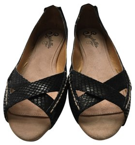 Seychelles Women Open-toe Women Women Women Black Flats