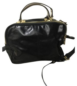 Badgley Mischka Tote in Black And Nutmeg