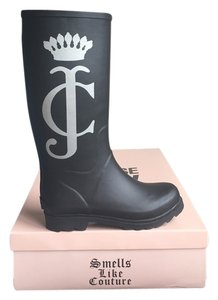 Juicy Couture Black silver Boots
