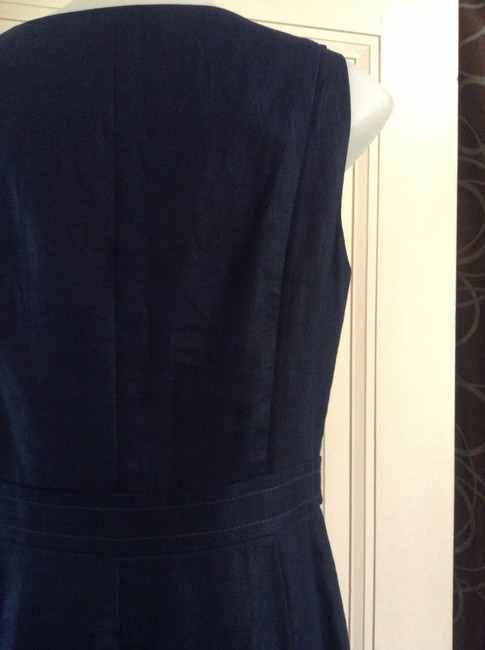 J.Crew short dress Navy on Tradesy