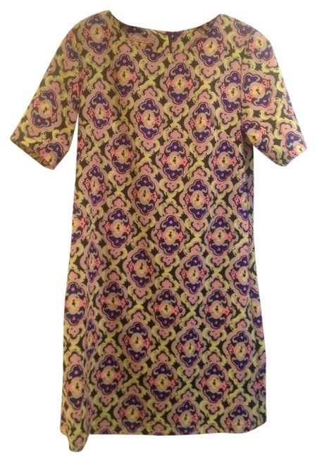 Preload https://item1.tradesy.com/images/toi-et-moi-patterned-print-shift-above-knee-short-casual-dress-size-4-s-922900-0-0.jpg?width=400&height=650