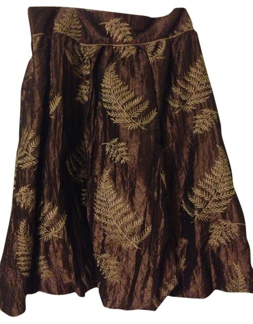 Bernardo Skirt Brown