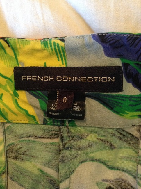 French Connection Tropical Bright Mini/Short Shorts Multi