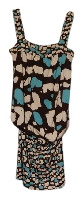 Preload https://item2.tradesy.com/images/diane-von-furstenberg-turquoise-and-brown-cheetah-animal-print-print-dvf-silk-above-knee-short-casua-923516-0-0.jpg?width=400&height=650