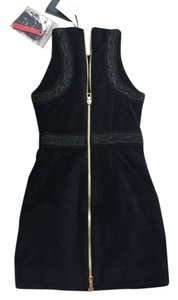 Balmain x H&M short dress Black on Tradesy