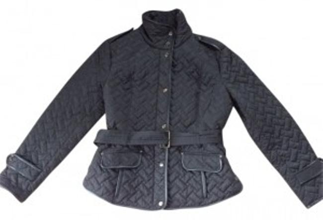 Preload https://img-static.tradesy.com/item/9236/cole-haan-black-quilted-raincoat-size-12-l-0-0-650-650.jpg