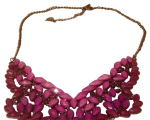 ALDO Purple Bib Necklace