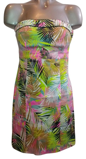 Preload https://item4.tradesy.com/images/h-and-m-dress-multicolor-neon-palm-tree-print-924023-0-2.jpg?width=400&height=650