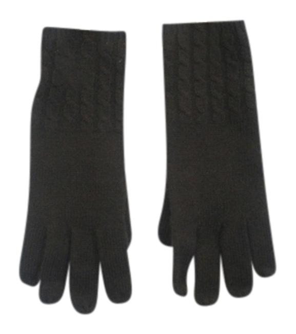 Item - Brown Cashmere Gloves - Scarf/Wrap
