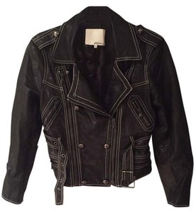 3.1 Phillip Lim Leather Leather Fierce Motorcycle Jacket
