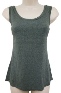 Gilligan & O'Malley Cotton Sleeveless Comfortable Top Gray