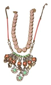 J.Crew Rhinestone necklaces