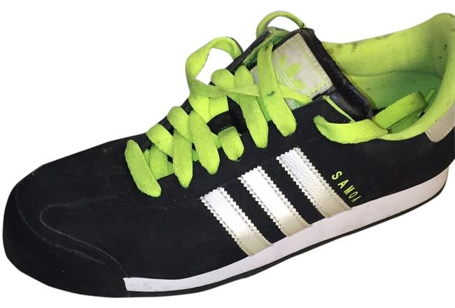 Item - Black and Green Sneakers Size US 10 Regular (M, B)