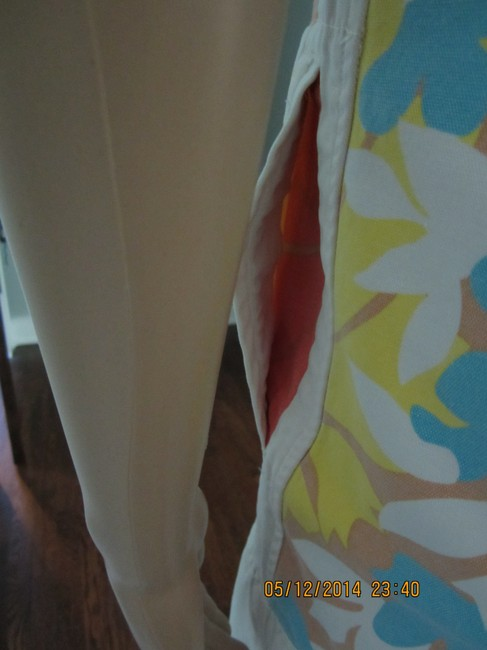 Tracy Feith short dress Blue, Yellow, Pink Sunwashed California Style Summery Unique on Tradesy