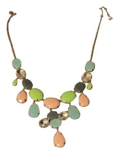 J.Crew Stone statement necklace