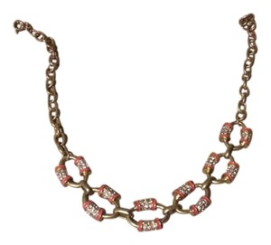 J.Crew Chain link rhinestone necklace