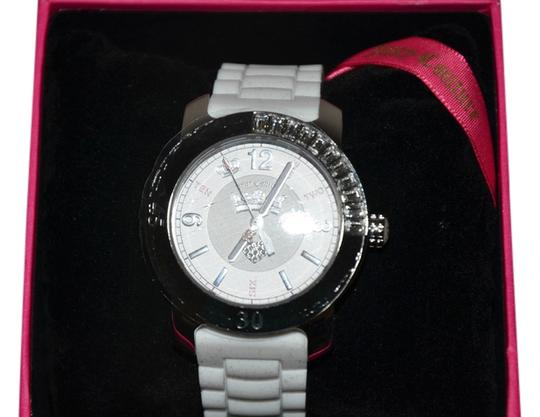 Juicy Couture NIB JUICY COUTURE WHITE BFF WATCH $195 REALLY CUTE