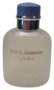 Dolce&Gabbana DOLCE & GABBANA D&G Light Blue Pour Home 4.2OZ/125ML Authentic Teste