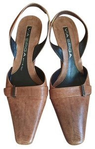 Via Spiga brown Mules