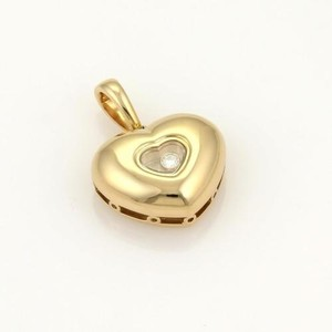 Chopard Chopard Happy Diamond 18k Yellow Gold Heart Pendant