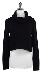 Ralph Lauren Collection Black Cashmere Cropped Sweater