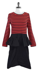 Marc by Marc Jacobs Navy Red Striped Dress
