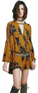 Free People short dress GoldenGolden/Mustard Yellow on Tradesy