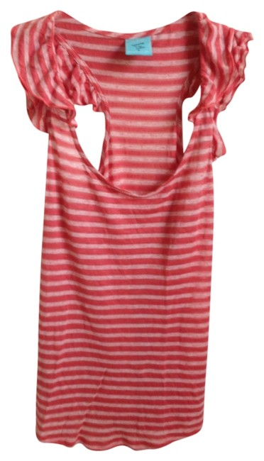 Preload https://item4.tradesy.com/images/hip-coral-stripe-tank-topcami-size-6-s-924898-0-0.jpg?width=400&height=650
