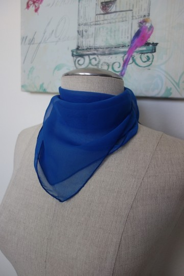 Other Blue Scarf