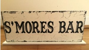 S'mores Table Sign
