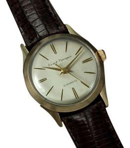 Girard-Perregaux 1950's Girard Perregaux Gyromatic Vintage Mens Midsize 31mm - 10K Gold Filled & Stainless Steel