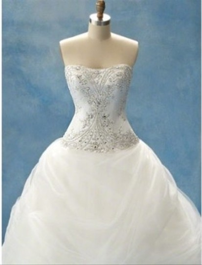 Alfred Angelo White Tulle Disney Fairytale Collection Belle Formal