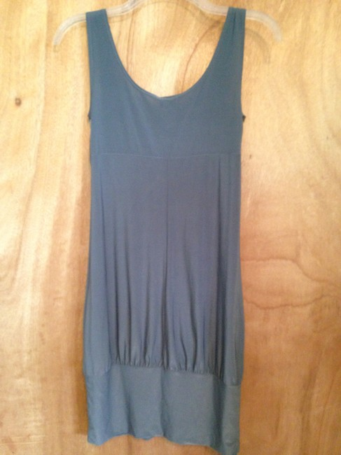 Vanity short dress Gray on Tradesy