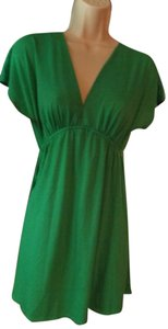 Just For Wraps short dress Green Sundress Jfw Comfortable on Tradesy