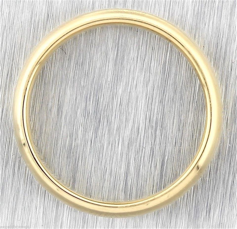 Tiffany co authentic men 39 s 14k yellow gold for Tiffany mens wedding ring