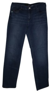 White House | Black Market Skinny Jeans-Medium Wash