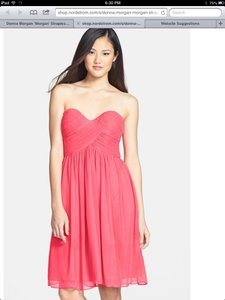 Donna Morgan Honeysuckle Chiffon Destination Bridesmaid/Mob Dress Size 6 (S)