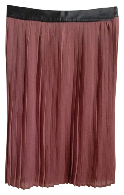 Mossimo Supply Co. Skirt Dark rose with Black band