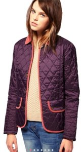 Barbour Quilted Corduroy Purple Grape Jacket